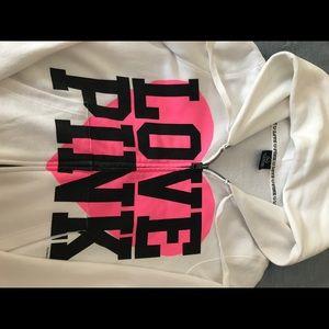 PINK Victoria Secret Sweatjacket